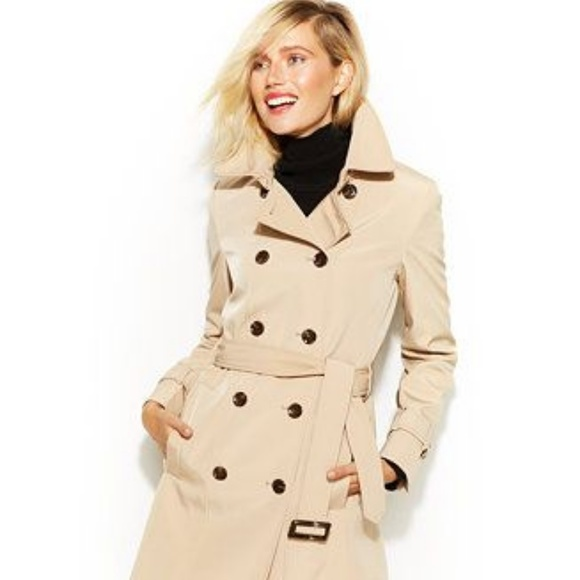 d8fbddb9fb3 Calvin Klein Jackets & Coats | Womens Doublebreasted Trench Coat ...